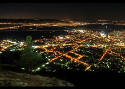 Bild zeigt: Dornbirn - Luftaufnahme der Stadt