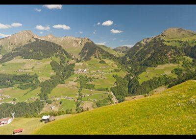 Bild zeigt: Fontanella - Landschaft rund um die Gemeinde