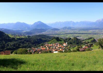 Bild zeigt: Fraxern - Gemeinde im Bezirk Feldkirch