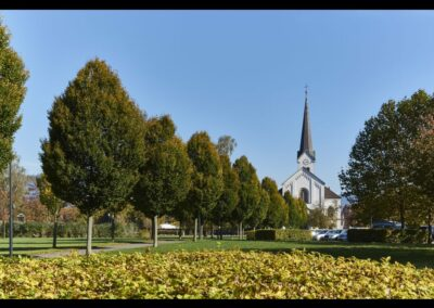 Bild zeigt: Hard - Pfarrkirche Hl. Sebastian