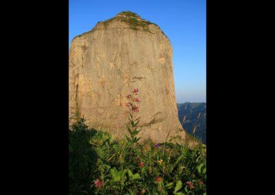 Bild zeigt: Hauptgipfel - Holenke im Bergmassiv Kanisfluh