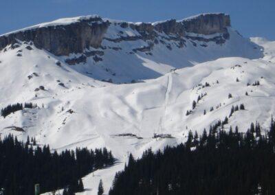 Bild zeigt: Hoher Ifen und Gottesacker Plateau
