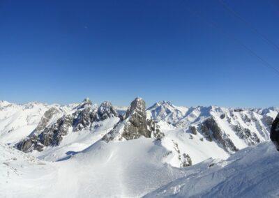Bild zeigt: Kaiserwetter in den Lechtaler Alpen