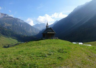 Bild zeigt: Kapelle im Bregenzer Wald