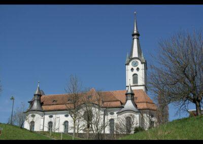 Bild zeigt: Koblach - katholische Pfarrkirche Hl. Kilian