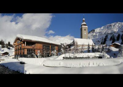 Bild zeigt: Lech am Arlberg im Winter