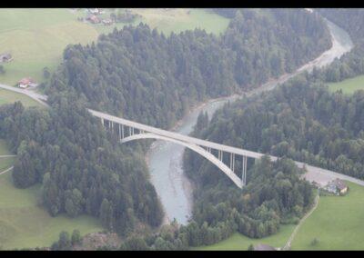 Bild zeigt: Lingenau - Hochbrücke über die Bregenzer Ach