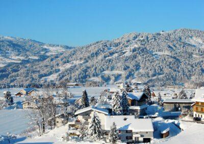 Bild zeigt: Lingenau - im Winter