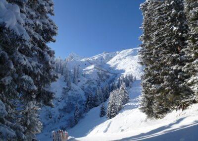Bild zeigt: Montafon Tal in Vorarlberg