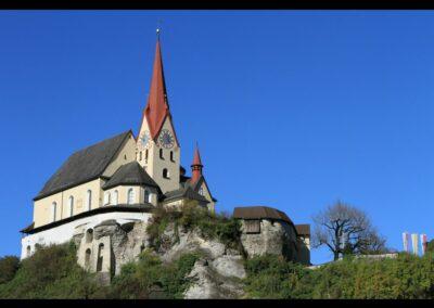 Bild zeigt: Rankweil - Pfarr- und Wallfahrtskirche