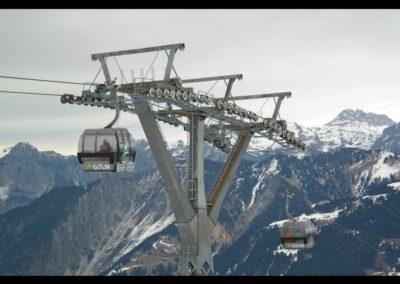 Bild zeigt: Skigebiet Montafon