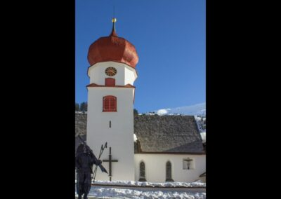 Bild zeigt: Stuben - Pfarrkirche