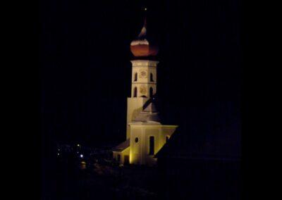 Bild zeigt: Vandans - alte Pfarrkirche