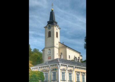 Bild zeigt: Wien - 23. Bezirk - Liesing, Kalksburger Pfarrkirche
