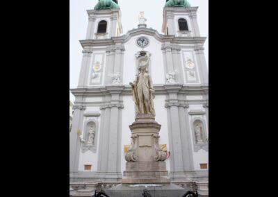 Bild zeigt: Wien - 6. Bezirk Mariahilf, Haydn Denkmal