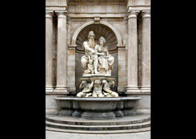 Bild zeigt: Wien - Albrechtsbrunnen oder Danubiusbrunnen