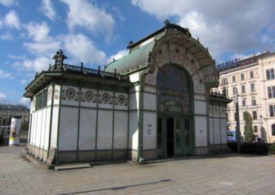Bild zeigt: Wien - Alte Stadtbahnstation Karlsplatz