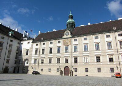 Bild zeigt: Wien - Anbau Amalienburg - Hofburg