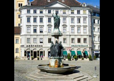 Bild zeigt: Wien - Austriabrunnen auf der Freyung