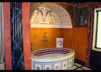 Bild zeigt: Wien - Badewanne in der Fuchsvilla