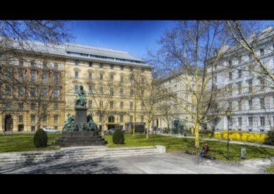 Bild zeigt: Wien - Beethovenplatz