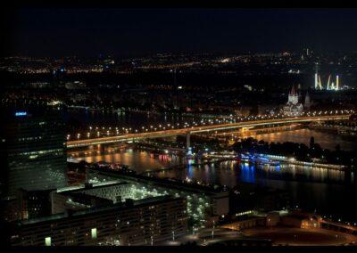 Bild zeigt: Wien - Bei Nacht