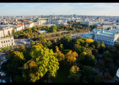 Bild zeigt: Wien - Blick auf den 1. Bezirk