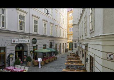 Bild zeigt: Wien - Blumenstockgasse