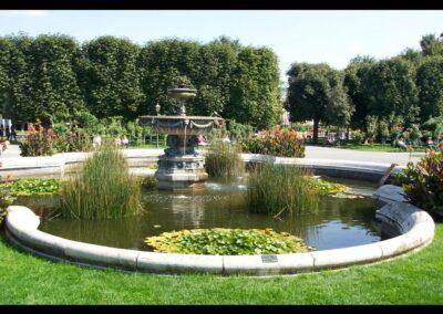 Bild zeigt: Wien - Brunnen im Volksgarten
