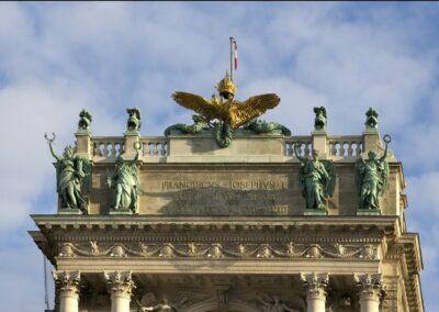 Bild zeigt: Wien - Dach von der Hofburg