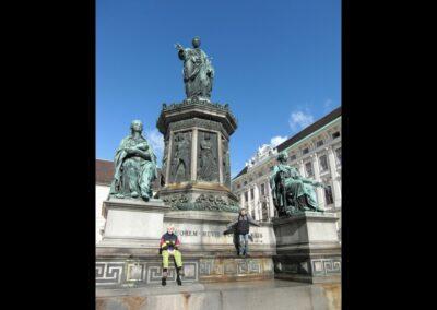 Bild zeigt: Wien - Denkmal für Kaiser Franz Josef