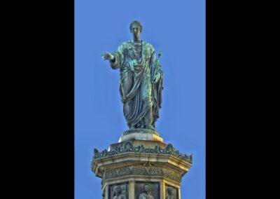 Bild zeigt: Wien - Denkmal vor der Hofburg