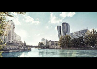 Bild zeigt: Wien - Donaukanal 2