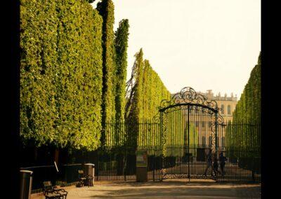 Bild zeigt: Wien - Eingangstor zums Shloss Schönbrunn