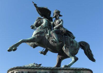Bild zeigt: Wien - Erzherzog Karl Reiterdenkmal