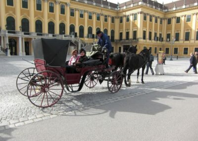 Bild zeigt: Wien - Fiaker 2