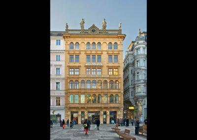 Bild zeigt: Wien - Gebäude am Graben