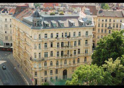 Bild zeigt: Wien - Gebäude in der Innenstadt