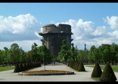 Bild zeigt: Wien - Gefechtsturm (Flakturm) im Augarten