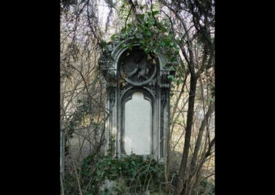 Bild zeigt: Wien - Grabstein vom Sankt Marxer Friedhof
