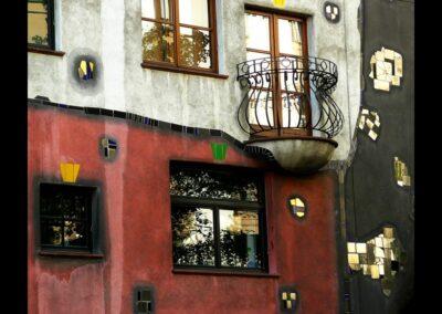 Bild zeigt: Wien - Hundertwasser Haus 2