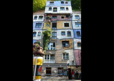Bild zeigt: Wien - Hundertwasser Haus 3
