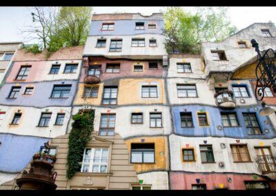 Bild zeigt: Wien - Hundertwasser Haus