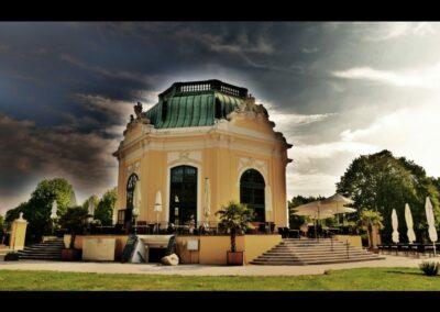 Bild zeigt: Wien - Kaiserlicher Frühstückspavillon im Tiergarten