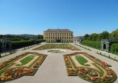Bild zeigt: Wien - Kronprinzengarten Schloss Schönbrunn