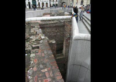 Bild zeigt: Wien - Michaelerplatz Ausgrabungen