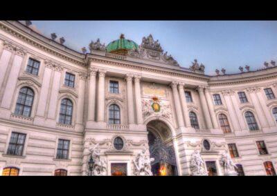 Bild zeigt: Wien - Michaelertrakt Nordfassade der Hofburg