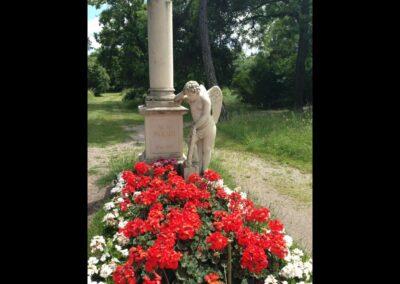 Bild zeigt: Wien - Mozart Grab auf dem St. Marxer Friedhof