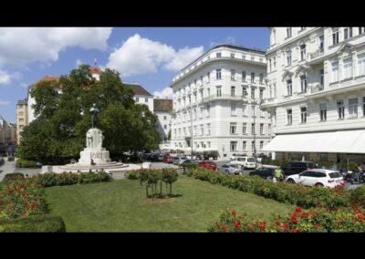 Bild zeigt: Wien - Parkanlage