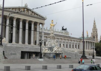 Bild zeigt: Wien - Parlamentsgebäude 2
